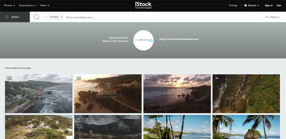 See our iStock stock footage portfolio